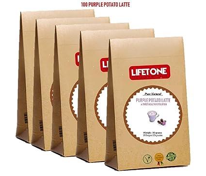 Patata Dulce Púrpura | Antioxidante Delicioso | 100 sobres ...