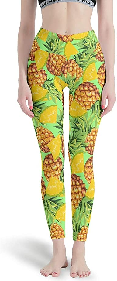 Wecrayon Dinosaur Leaves Womens Yoga Trousers Sports Trousers Long High Waist Flashproof Sport Leggings Fitness Trousers Running Trousers Casual Trousers Jogging Bottoms