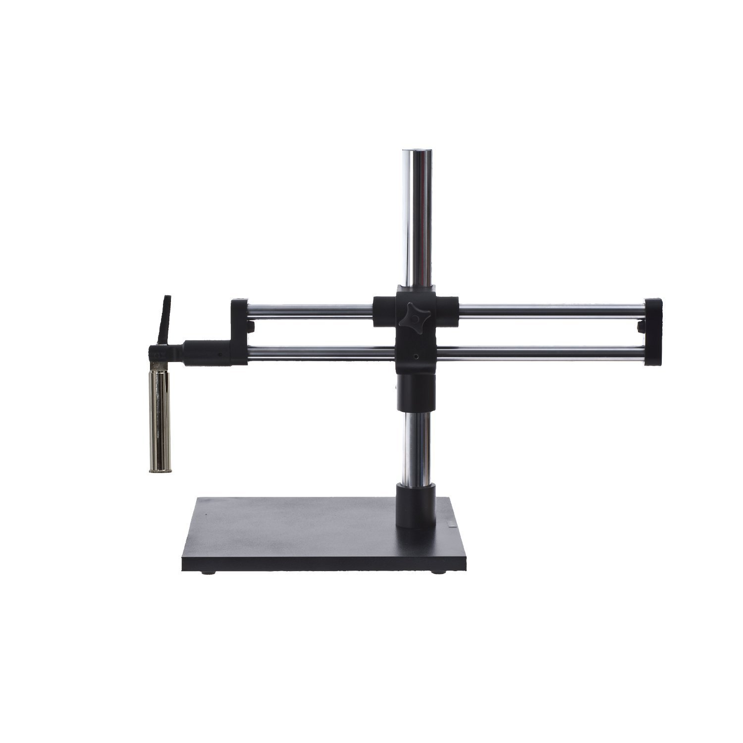 Meiji Techno EMZ5-V15-7X-45X 80 LED Ring Light Continuous Glide Motion Dual-Arm Boom Stand Zoom Stereo Inspection Microscope