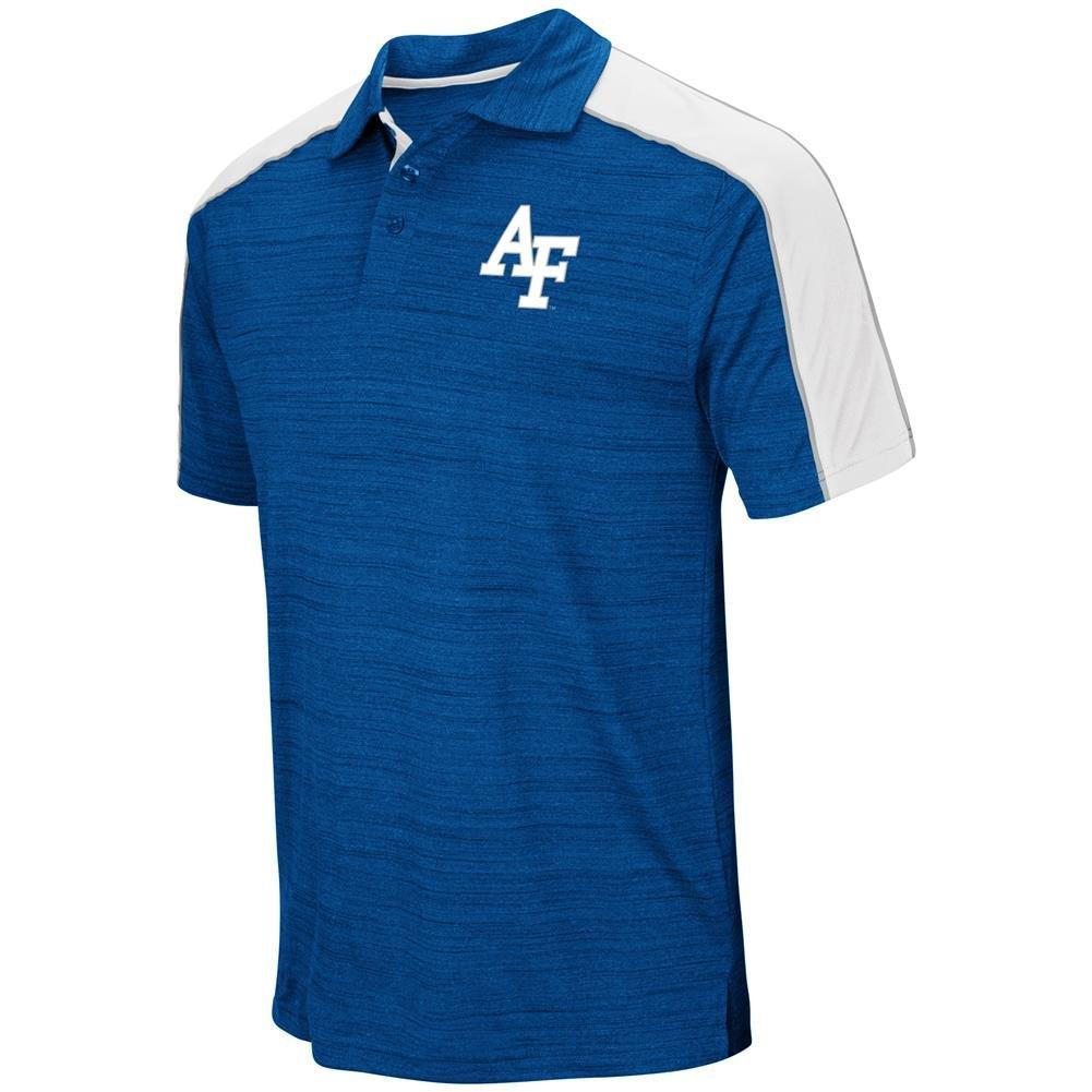 ce7d8414349 Top1  Air Force Academy Falcons Men s Polo Short Sleeve Dress Shirt.  Wholesale Price
