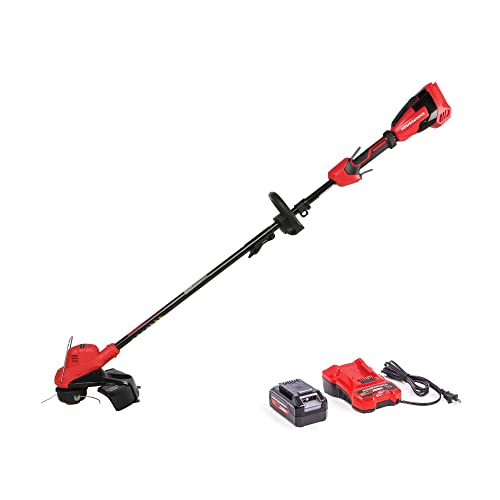 Powerworks STP302 XB 40V 15-Inch Gear Reduced Cordless String Trimmer, 2Ah Battery and Charger Included, 15 inch