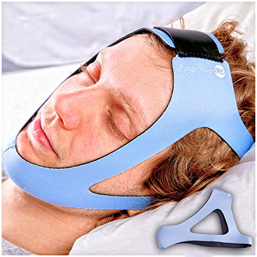 Easysleep Pro Light Blue Adjustable Stop Snoring Chin Strap Buy