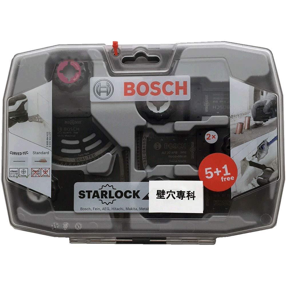 Bosch 2608664622 Starlock Lot de 6 lames pour /électriciens