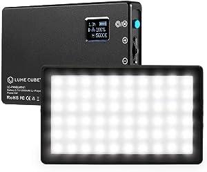 Lume Cube Bicolor Panel Mini LED Light for Professional DSLR Cameras   Adjustable Panel Mini, LCD Display   Photo and Video Lighting, Long Battery Life   Fits Sony, Nikon, Canon, Fuji, Panasonic