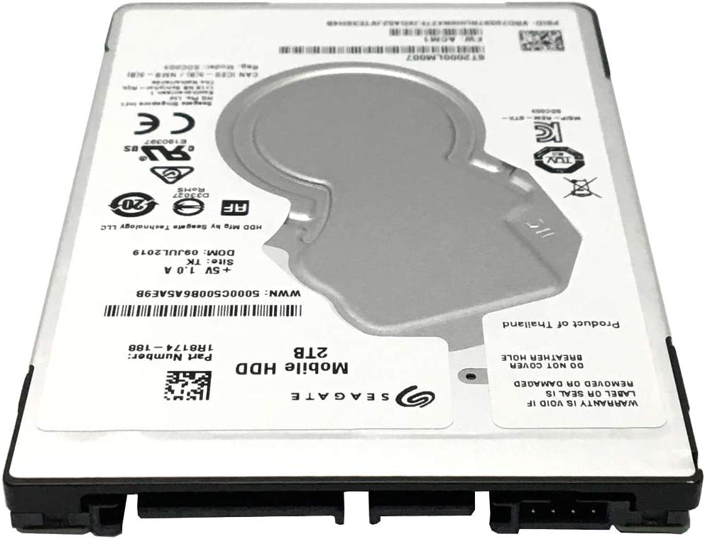 Seagate 2TB 5400RPM 128MB SATA 6Gb//s 7mm Designed for PS4 - 3 Year Warranty 2.5in Internal Gaming Hard Drive