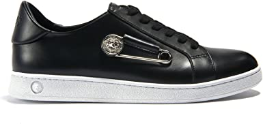 versus versace safety pin trainers off