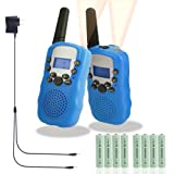 Amazon Price History for:Walkie Talkies for Kids, Rechargeable Long Range Kids Walkie Talkies, with Rechargeable Batteries and Charger, 2 Way Radio With Flashlight 22 Channel, Kids Toys Walkie Talkies, 2 pack (Blue)