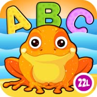 Preschool and Kindergarten Reading, Tracing & Spelling School Adventure: First Words - Animals A to Z (Letters Recognition, Phonics, Alphabet Learning Game) for Kids (Kindergarten, Toddler, Preschool, Grade 1) Educational Toy by Abby Monkey®