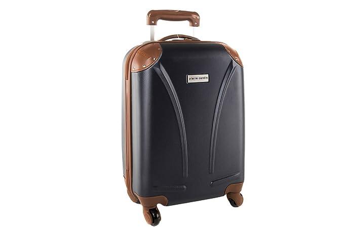 Maleta rígida PIERRE CARDIN azul mini equipaje de mano ryanair 512batt