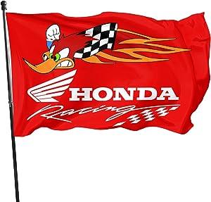 Honda Racing Flags 3x5 Feet Outdoor Banner Garden Flag Motorcycle Flag