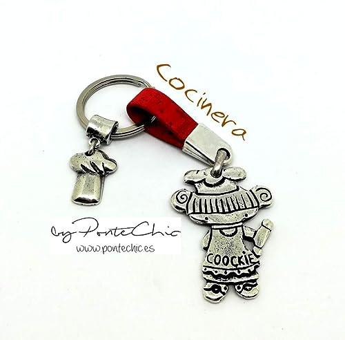 Llavero COCINERA (Temática Profesiones): Amazon.es: Handmade