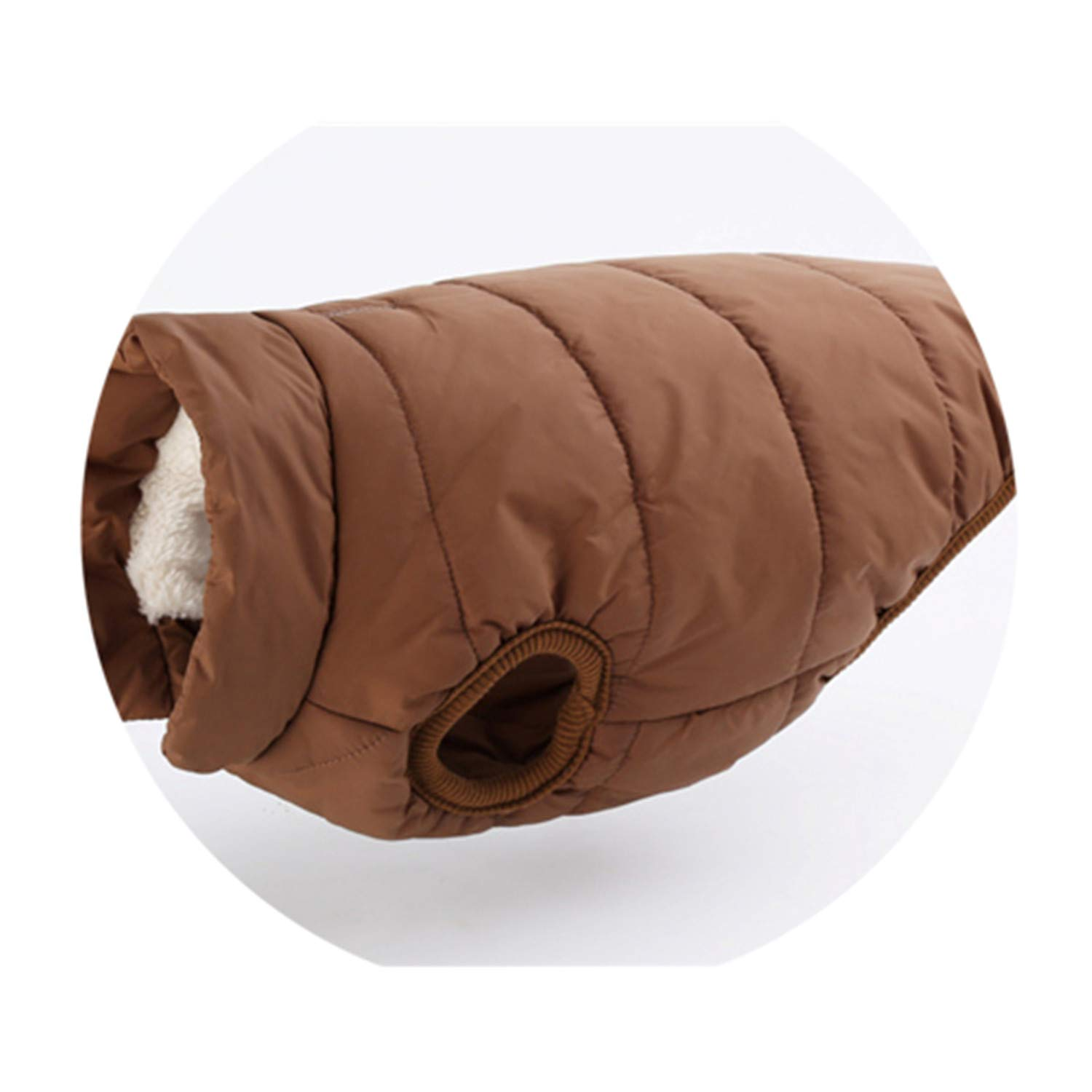 Coffee XXXL coffee XXXL Pet Dog Vest Jacket Clothing Autumn Winter Windproof Dog Clothes Warm Coat for Small Large Dogs French Bu