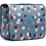 HaloVa Toiletry Bag Multifunction Cosmetic Bag Portable Makeup Pouch Waterproof Travel Hanging Organizer Bag for Women Girls