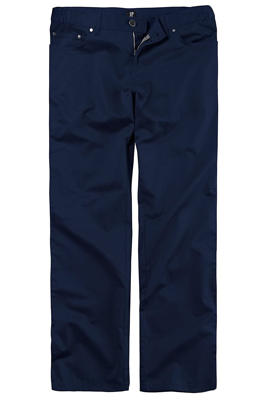 JP1880 Men's Big & Tall Stain Resist Wrinkle Free Pants Navy 32 702544 70-32