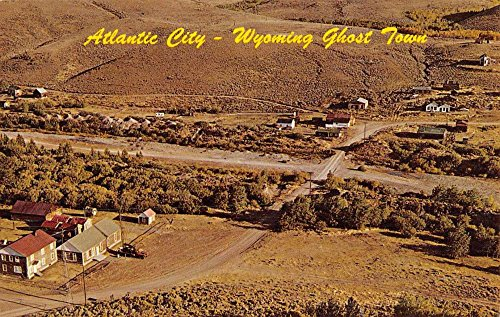 atlantic-city-wyoming-birdseye-view-of-city-vintage-postcard-k50778