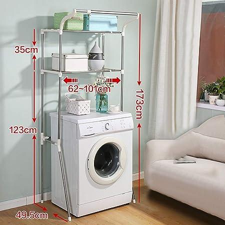 Estante de la lavadora lavado bastidor telescópico máquina, el ...