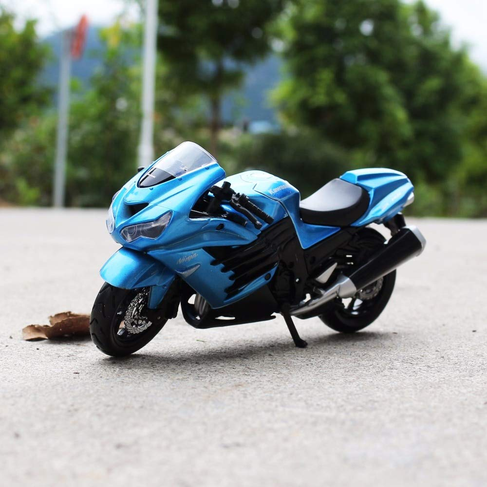 Amazon.com: Greensun 1:18 Scale Kawasaki Ninja ZX-14R ...