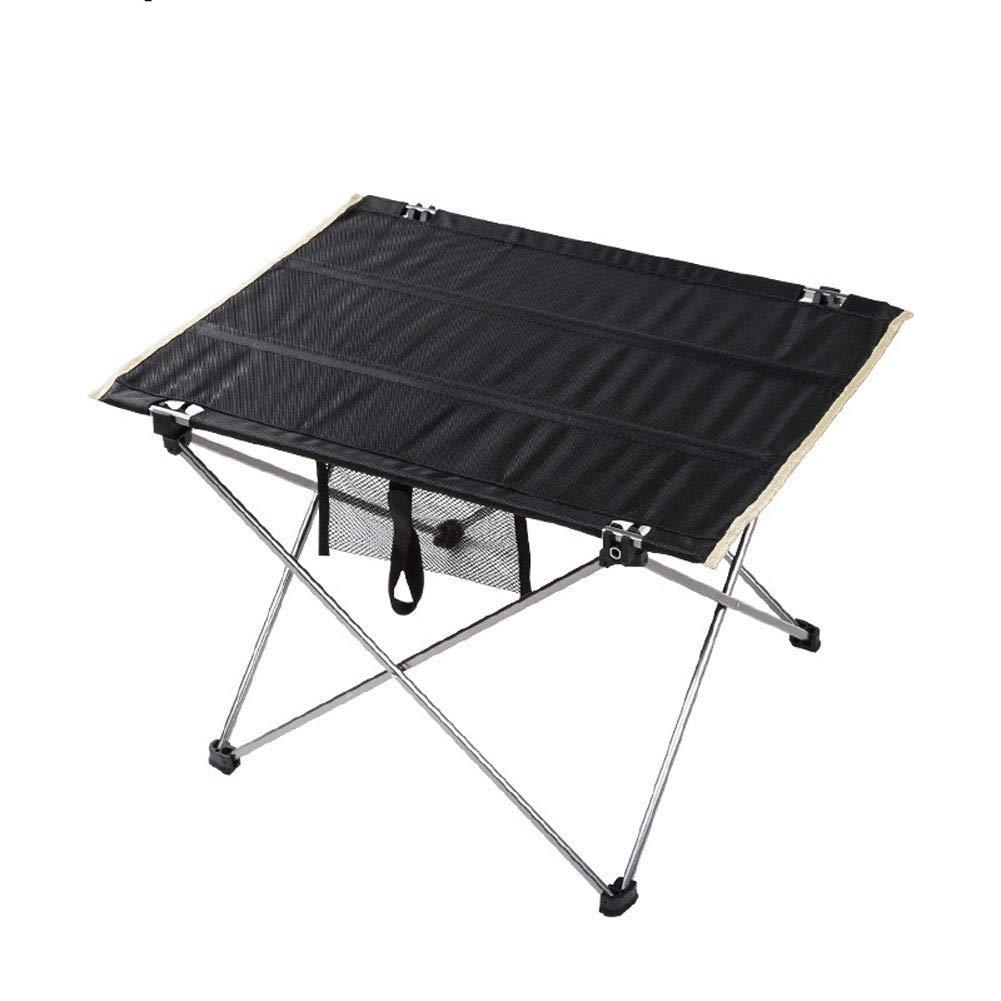 A Tableau extérieur pliable de Tableau de camping portatif, Tableau en aluminium portatif ultra léger Tableau de pique-nique de camping décontracté (taille   B)