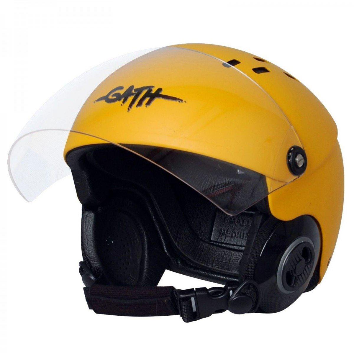 Casco gath Rescue safety Amarillo mate talla M: Amazon.es: Deportes y aire libre