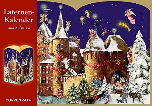 Laternen-Aufstellkalender – Weihnacht auf der Burg