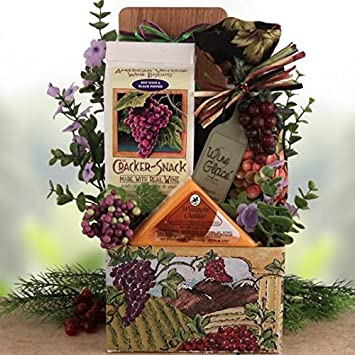 Image Unavailable. Image not available for. Color: Napa Valley Gourmet Gift Basket