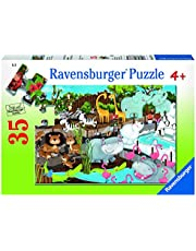 Ravensburger Day at The Zoo 35pc Puzzle,Children's Puzzles