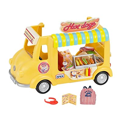 Calico Critters Hot Dog Van: Toys & Games [5Bkhe2003606]