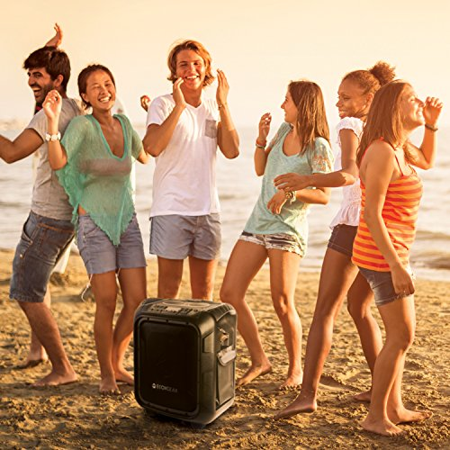 ECOXGEAR GDI-EXBLD810 Waterproof Portable Bluetooth/AM/FM Wireless 100W Speaker & PA system by ECOXGEAR (Image #9)