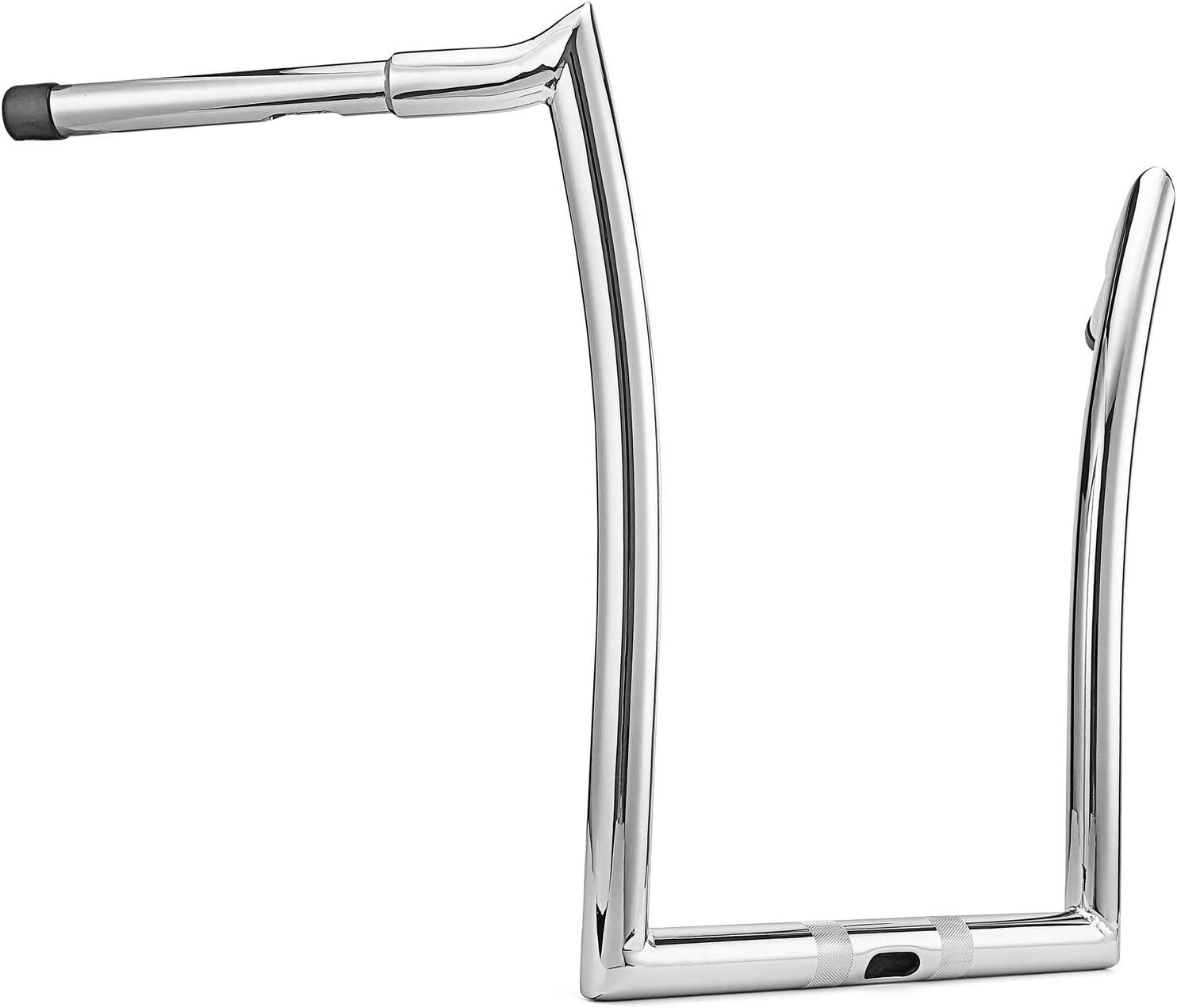 WSays Chrome 14 Ape Monkey Bar Handlebar 1-1//4 Diameter Compatible with 2015-2020 Harley Road Glide FLTR,FLTRXS,FLTRU,FLTRX