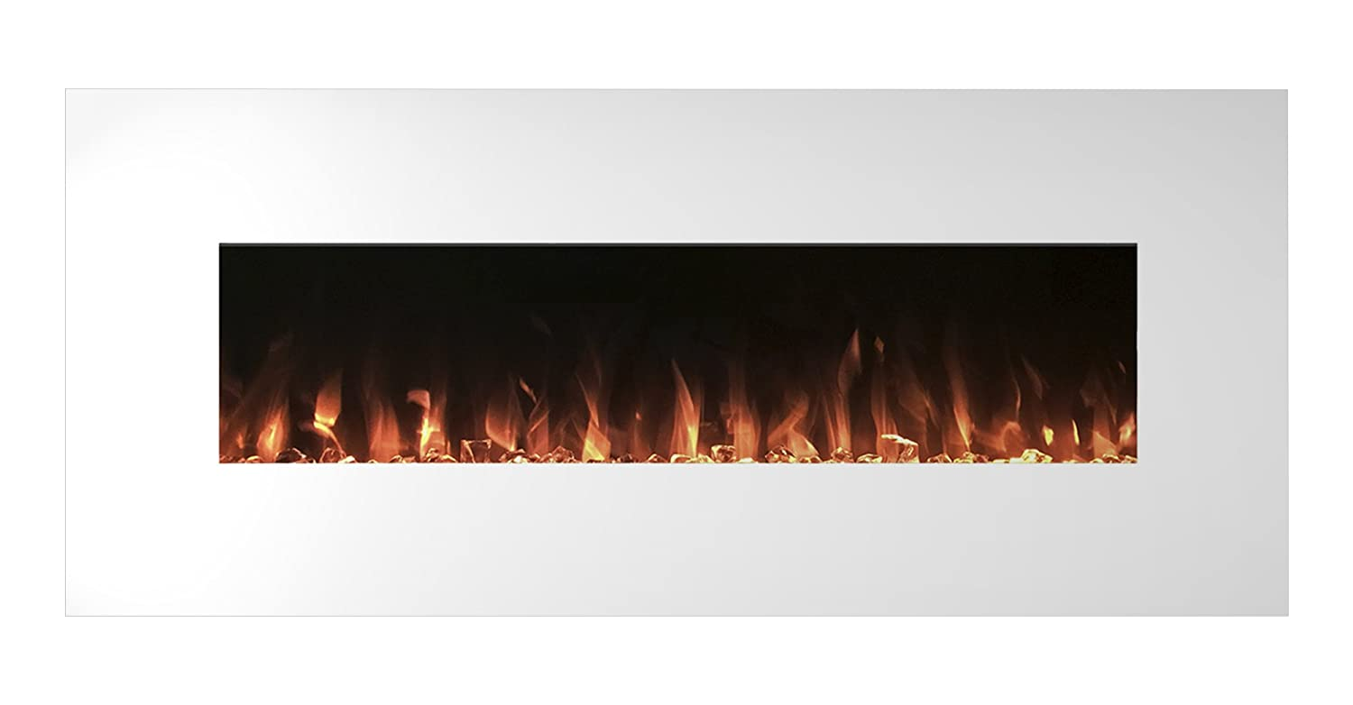 black fireplaces mounted fireplace led in p wall northwest backlights electric with mount