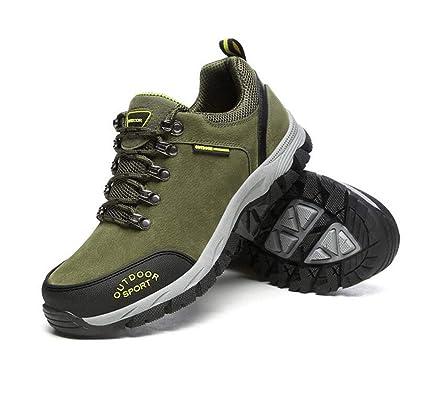 3c49035e80ef3 Amazon.com: FGSJEJ Men's Hiking Shoes, Breathable, Summer, Low-Rise ...