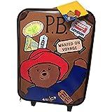 Paddington Bear Children s Luggage Paddington Box Wheeled Bag 18 liters  Brown (Brown) PADD001001 f275555078