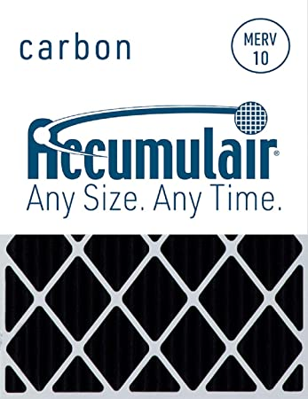 Accumulair Carbon 20x24x1 19.5x23.5 Odor eliminating Air Filter//Furnace Filter