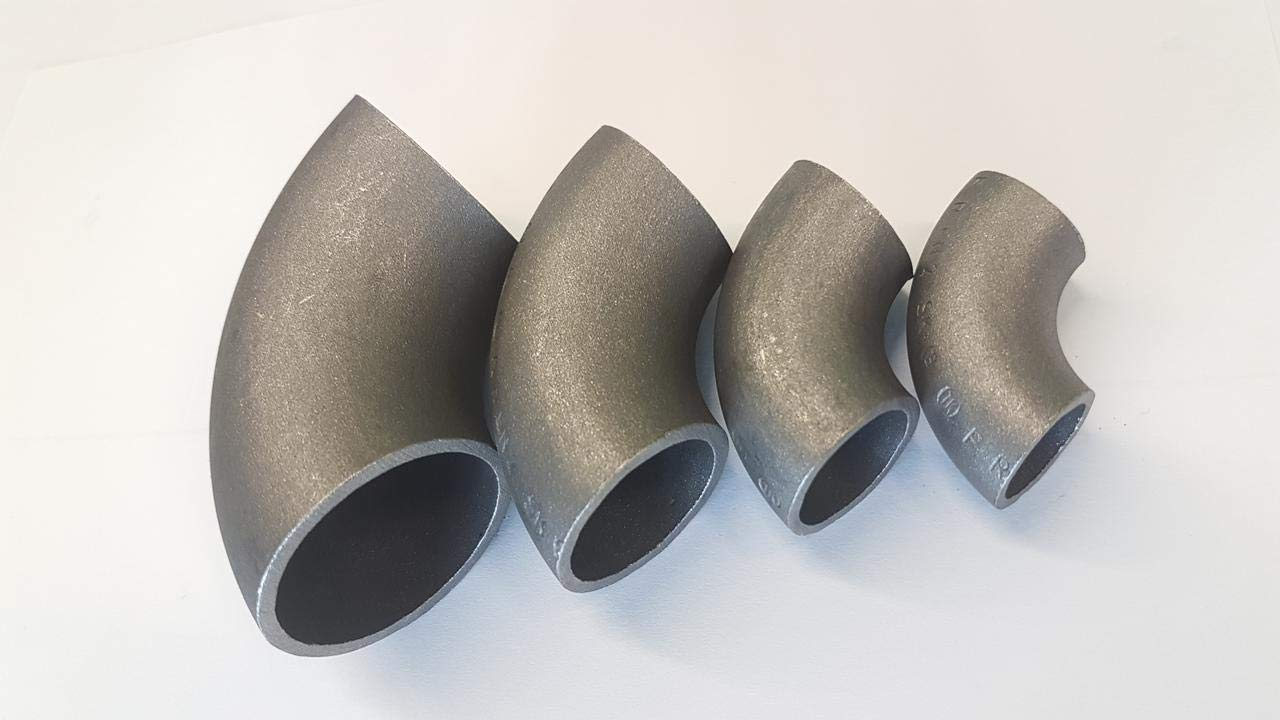 Rohrbogen 3S 90/° Schwei/ßbogen Bogen nahtlos Stahl S235JR DIN 2605 60,3 x 2,9 mm