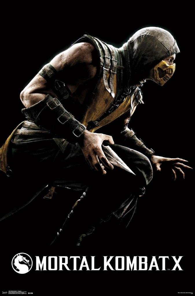 The Poster Corp Mortal Kombat X - Scorpion Artistica di Stampa (86,36 x 55,88 cm): Amazon.es: Hogar