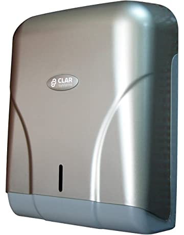 Clar Systems T6500PP Dispensador de Papel Toalla, 600 Toallas, Pintura Acero Líquido