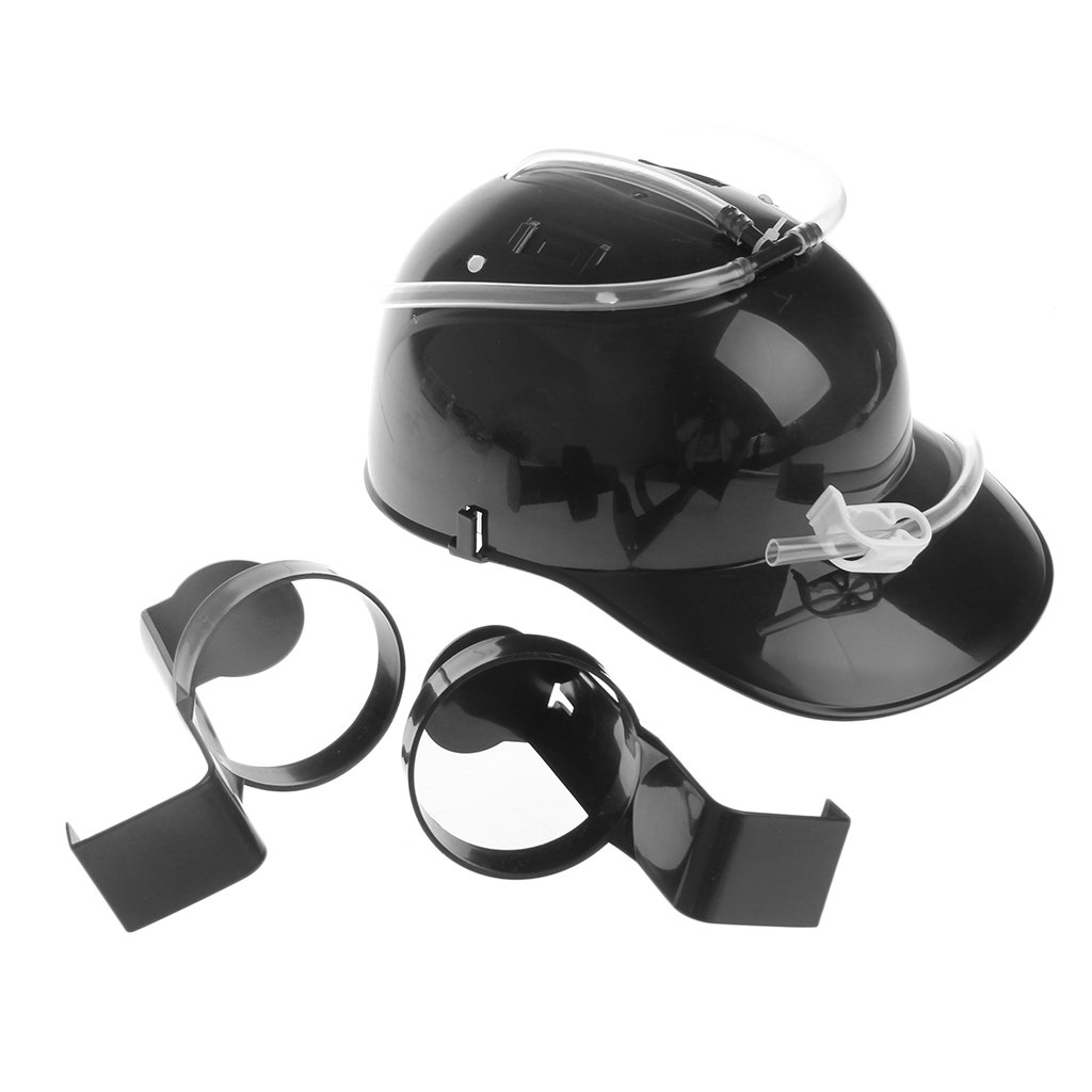 b102d358e Amazon.com: Beer Wine Drinking Helmet Hard Hat Game Drink Party ...