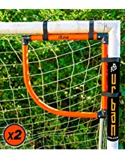 Voetbal Flick Corner Shot Top Bins (x2) voor voetbal nauwkeurigheid training