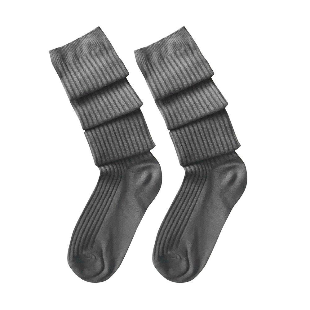 YAliDa 2019 clearance sale Girls Ladies Women Thigh High Over the Knee Socks Long Cotton Stockings Warm(OneSize,Dark Gray)
