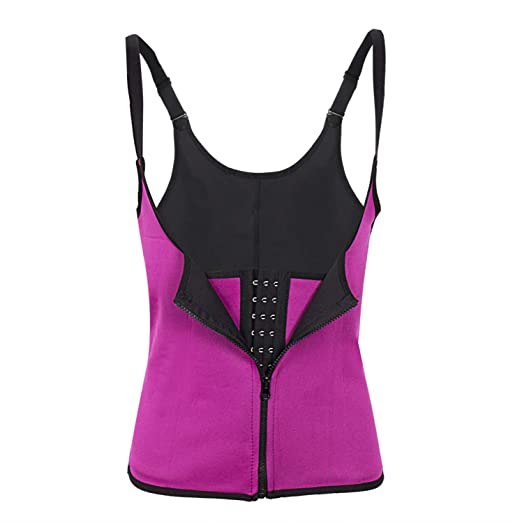 e708ab7611 Deaing Hot Shapers Neoprene Sauna Sweat Vest Waist Trainer Cincher Women  Body Slimming Trimmer Corset Workout