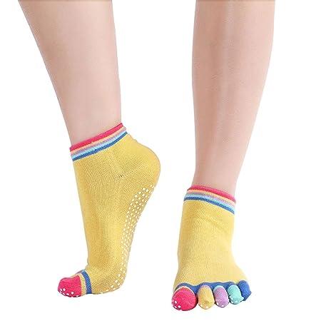 Skyeye Calcetines antideslizantes para calcetines Lady Socks ...