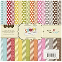 """Simple Stories Multi Single-Sided Paper Pad 6""""x6"""" 36-Pack -Sn@p! Color Vibe Collection"""