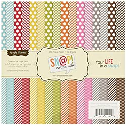 Color Vibe Collection Paper Pad, 36 Sheets