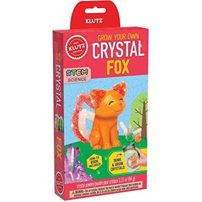 Klutz Grow Your Own Crystal Fox: Toys & Games