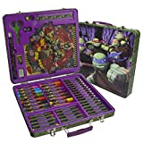 ninja turtle arts and crafts - Nickelodeon Teenage Mutant Ninja Turtles Deluxe Stationery and Art Set with Over 150 Pieces
