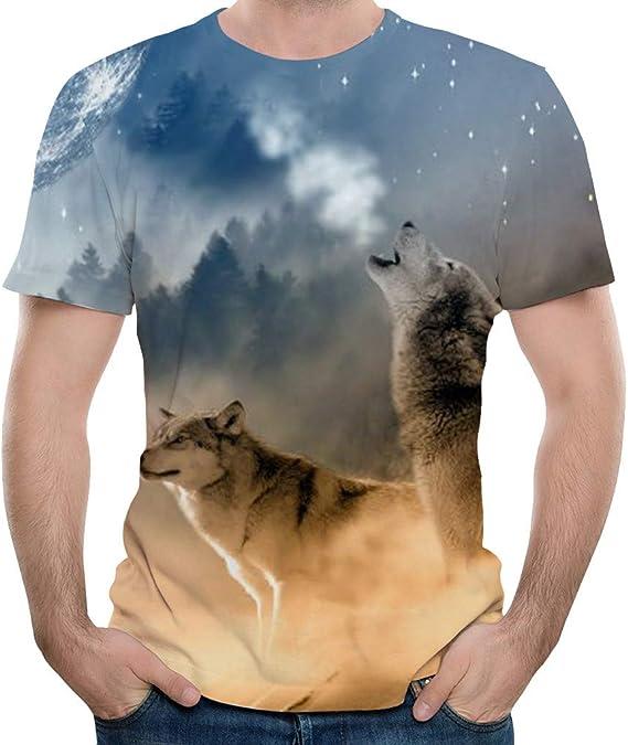 T-Shirt Imprimé pour Hommes 3D Impression