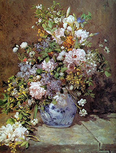 Pierre Auguste Renoir - Spring Bouquet Fogg Museum of Art - Harvard University 30