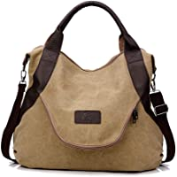 cf09d044e549 Jinsun Work Shoulder Bags Multipurpose Canvas Crossbody Shoulder Bag High  Capacity Light File Shopping Travel Handbag