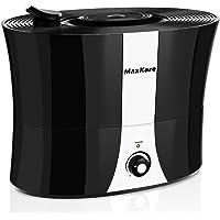 MaxKare ultrasónico Humidificador raumbefeuchter 5,5L Aroma difusor, 40 m² con, 360 ° giratorio Vapor Boquillas, temporizador, apagado automático, adecuado para salón, dormitorio y habitación infantil