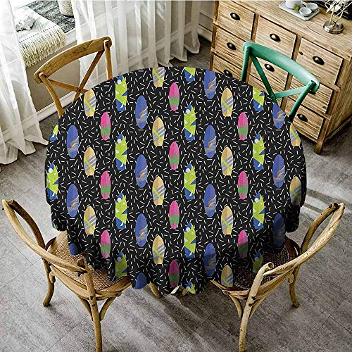 (Rank-T Spots Round Table Cloth 70